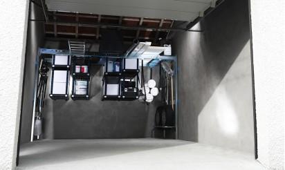 Rangement garage plafond