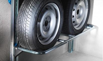 Rangement pneu garage