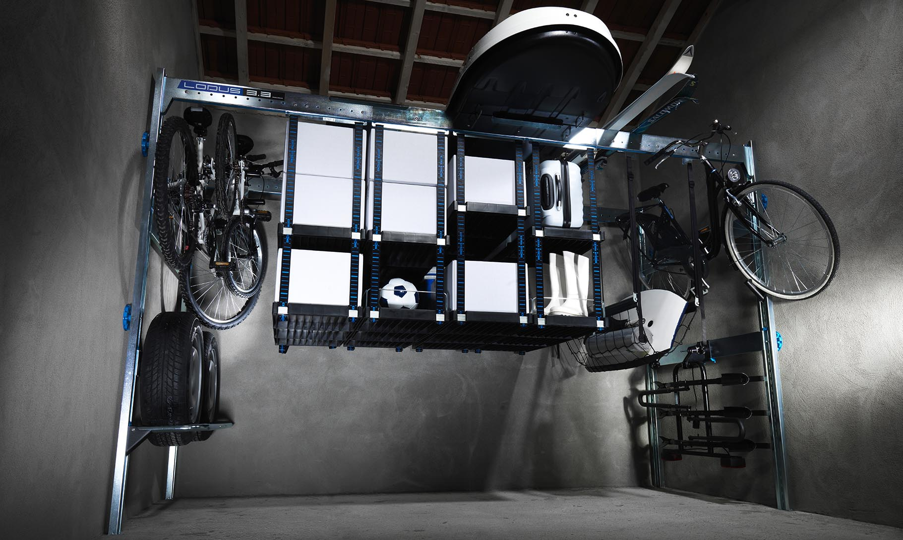 Showroom lodus lodus for Lodus rangement garage
