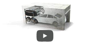 Lodus 1 re solution de rangement modulable pour garage for Lodus rangement garage